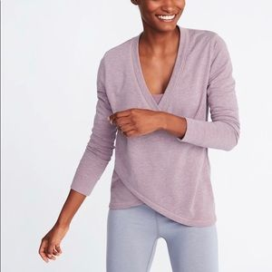 Old navy Active wear faux wrap top